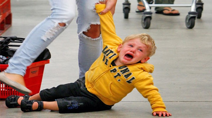Jak řešit dětský vztek a jak zvládnout již rozjetou scénu?
