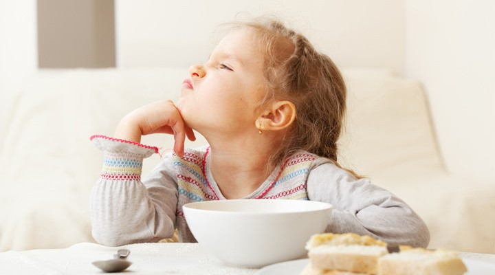 Co dělat, když dítě nechce jíst?