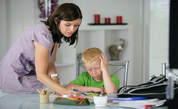 Domácí příprava dítěte do školy