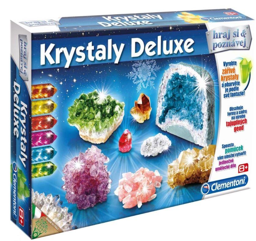 Experimenty Krystaly deluxe