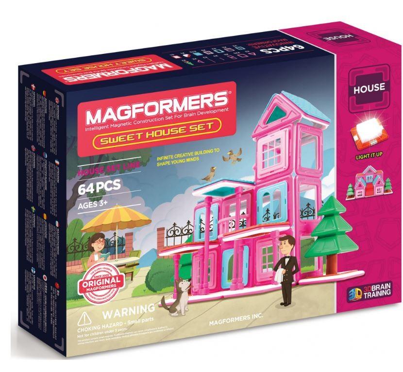 Magformers sladký dům
