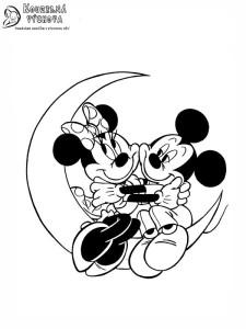 mickey mouse omalovánka 3