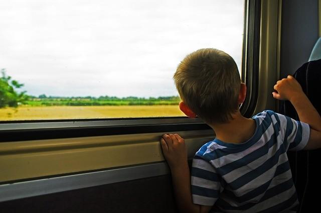 poznávací cesta vlakem