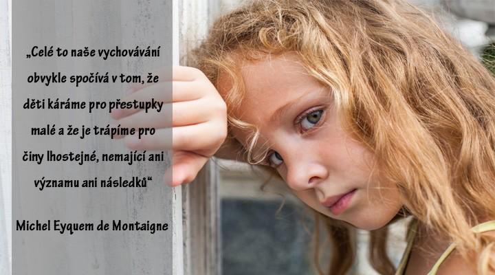 2 myšlenky o tom, jak se může dítě cítit, když zůstane nepochopené