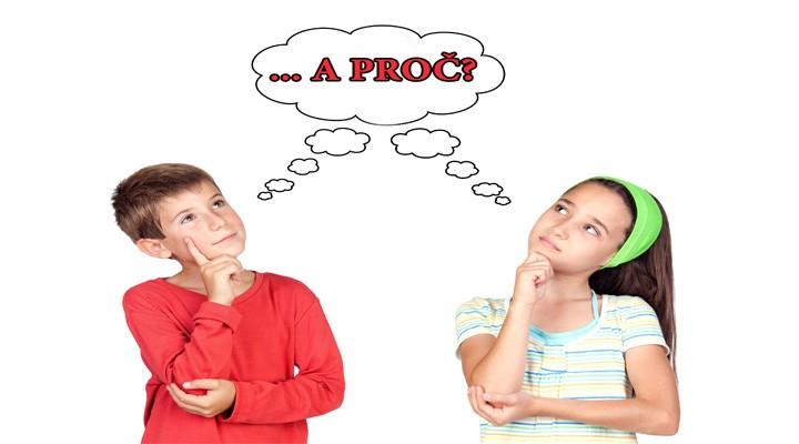 Oblíbené dětské otázky: Mami, tati a PROČ?
