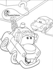 Omalovánky Cars 1