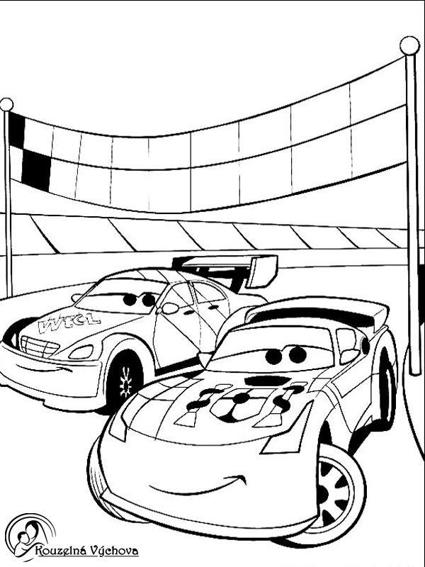 Omalovánky k vytisknutí - CARS