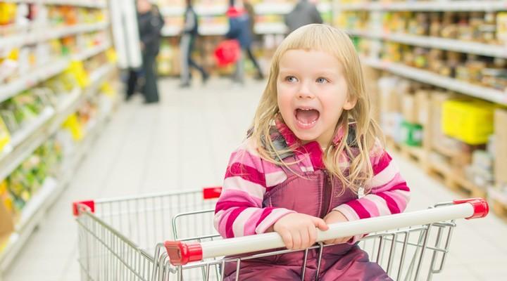 Jak zvládat každodenní nákupy s dětmi?