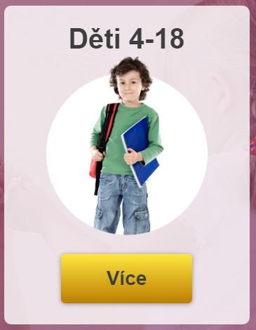Hlavní kurz pro děti 4-18 let