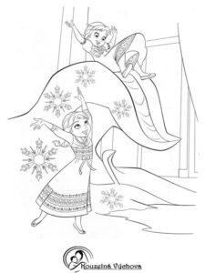 Omalovánky Frozen 2