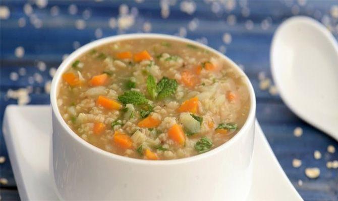 Ovesné menu - Ovesná polévka