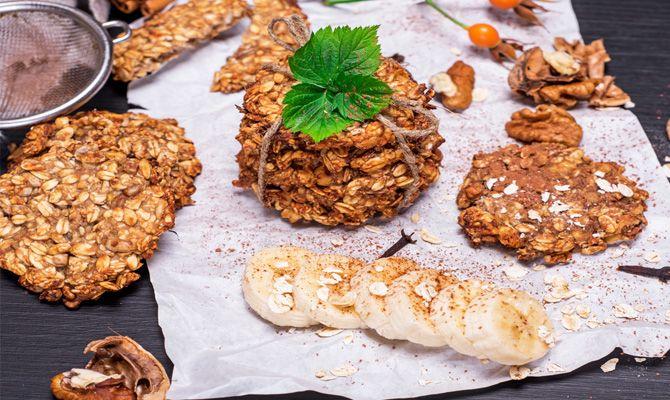 Ovesné menu - Ovesné sušenky