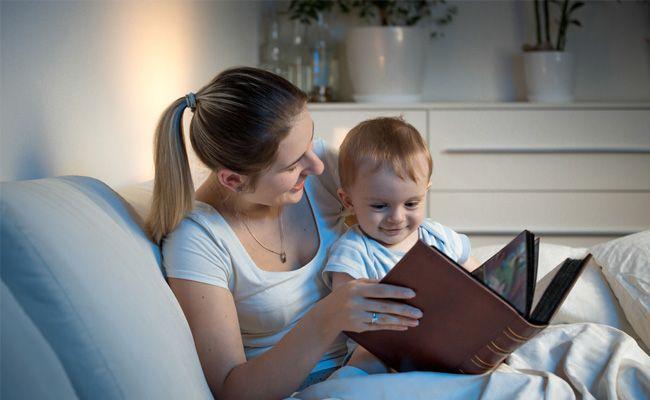 Jak uspat dítě - spánkový rituál