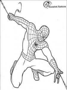 Omalovánky Spiderman 4