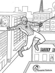 Omalovánky Spiderman 5