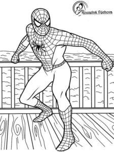 Omalovánky Spiderman 6
