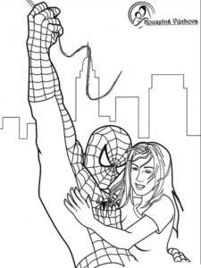 Omalovánky Spiderman 7