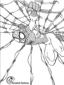 Omalovánky Spiderman 8